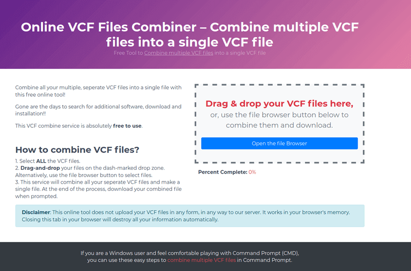 Combine Multiple VCF Files