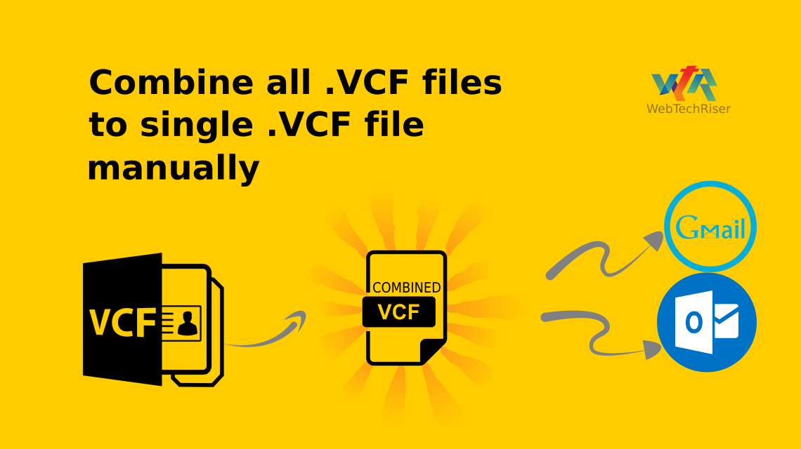 Combine all VCF Files to single VCF files manually