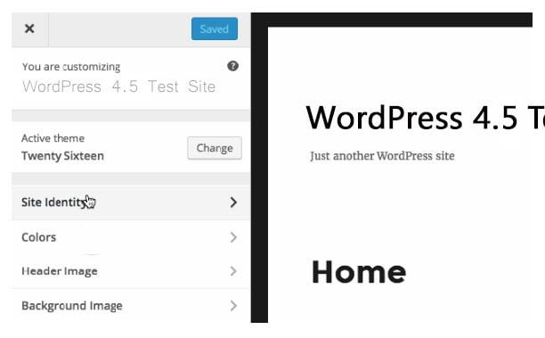 How to use WordPress custom logo Api with code example - Select Logo