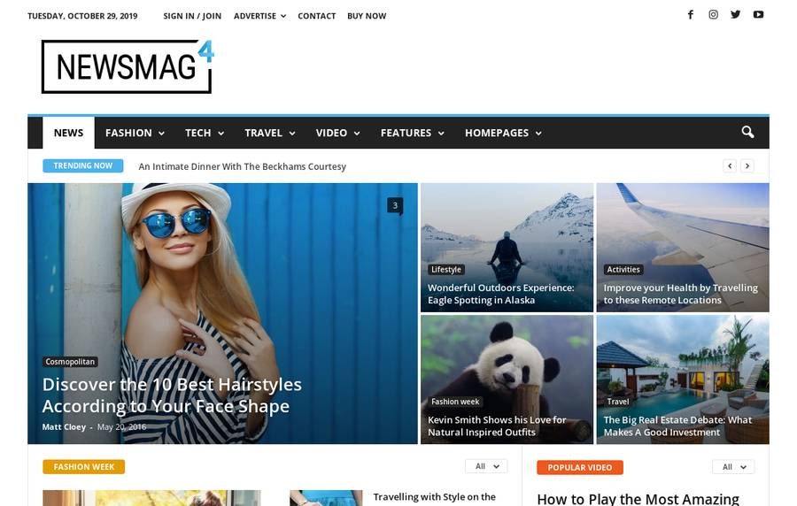 WordPress Newspaper Theme - Newsmag