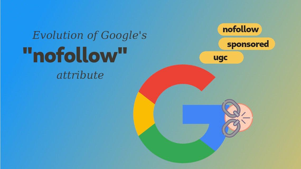 Google nofollow sponsored ugc attributes