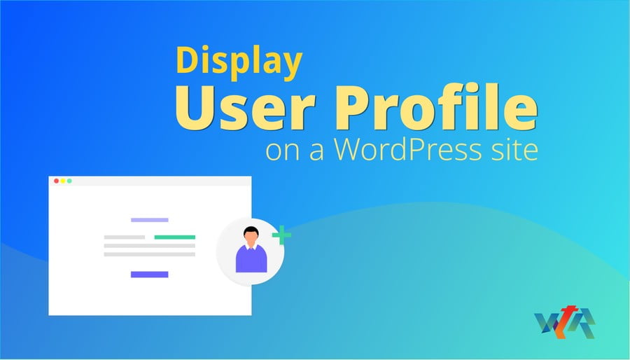 how to display user info on a wordpress site