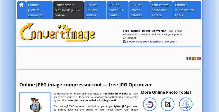Image Optimization Tools - ConvertImage