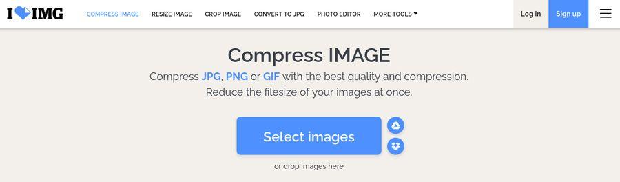 Image Optimization Tools - ILoveIMG