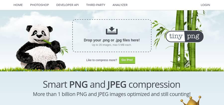 Image Optimization Tools - TinyPNG