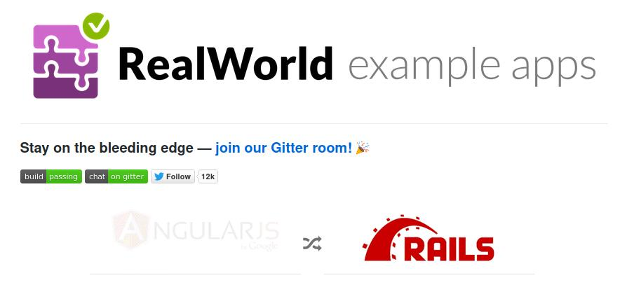 RealWorld example apps