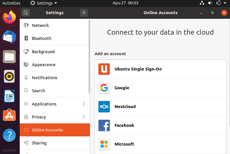 Connect to your useful online accounts